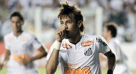 Muricy Ramalho recordó la etapa de Neymar en Santos. EFE