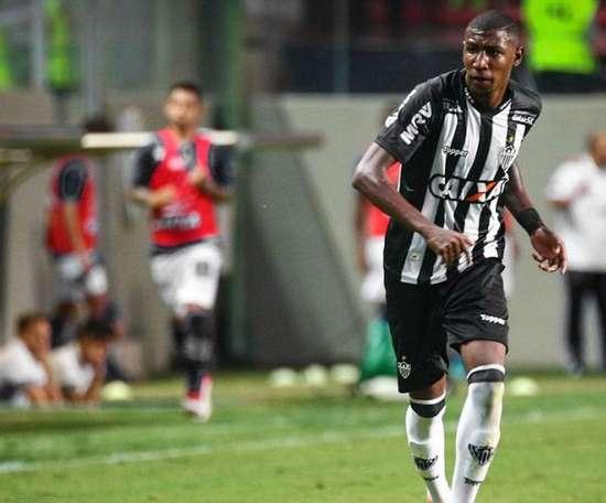 Emerson Aparecido. Jogador do Atlético Mineiro. AtleticoMineiro