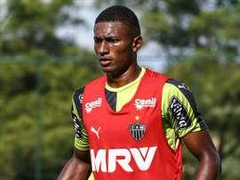 El jugador de Atlético Mineiro Jesiel. Twitter