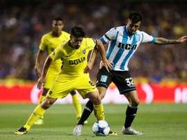 Racing acabó con la gran racha triunfal de Boca Juniors. BocaJuniors