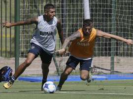 La Sub 20 de Argentina ya se prepara para L'Alcudia. Twitter/AgustínAlmendra