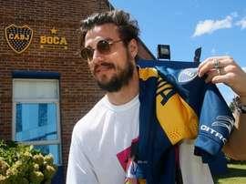 Osvaldo vuelve al fútbol. BocaJuniors