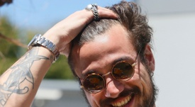 Osvaldo has given up football to pursue a career in music. BocaJuniors