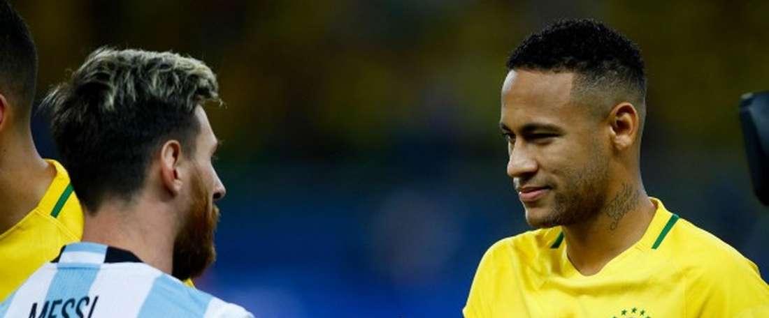 Alejandro Cabral choisit Messi. EFE