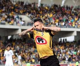 Pinilla regresó a la acción con gol. CoquimboUnido