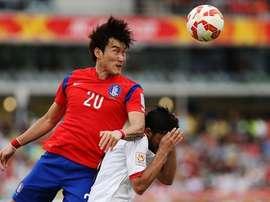El jugador de Corea del Sur Jang Hyumsoo. Twitter
