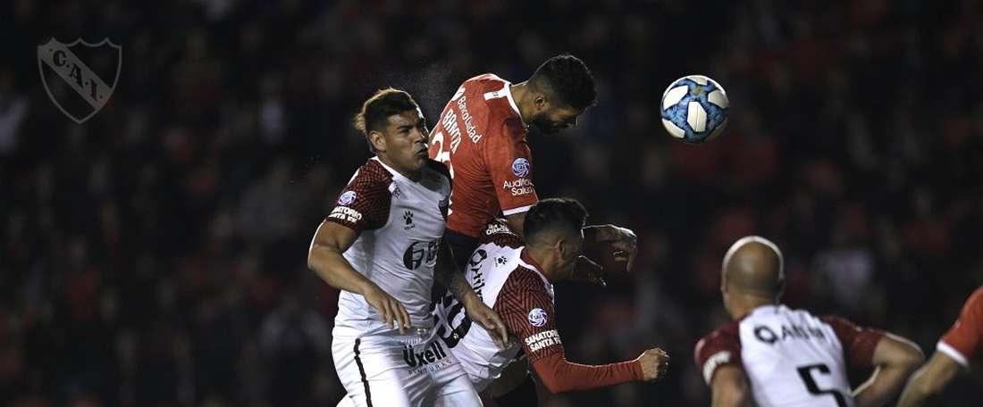 Independiente ganó a Colón. Independiente