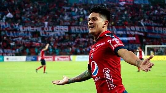Germán Cano lleva 32 goles en 48 partidos en este 2018. DIMOficial