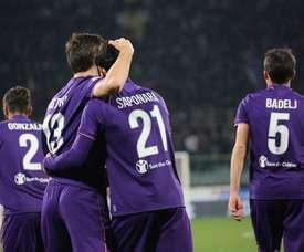 El centrocampista mostró su mejor versión en el Empoli. ACFFiorentina