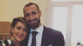 Los hermanos Chiellini comparten pasión por el fútbol. Instagram/SilviaChiellini3