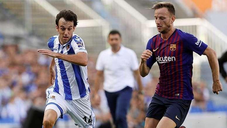 Rakitic podría irse del Barça. EFE