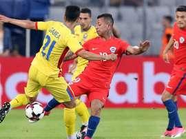 Leonardo Valencia pidió una nueva oportunidad para jugar en la Selección Chilena. EFE