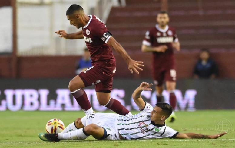 Pepe Sand evitó la derrota ante San Martín San Juan. Lanus