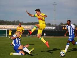 Hélder Lopes ha sido presentado como nuevo jugador de Las Palmas. MaisFutebol
