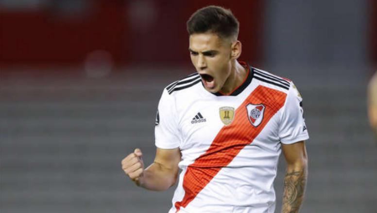 Martínez Quarta habló del duelo ante Boca. EFE