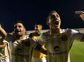 Rosario goleó por 6-0 a Juventud Antoniana en Copa. RosarioCentral