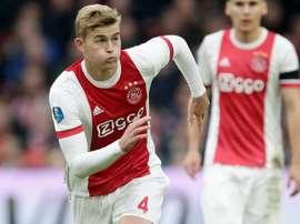 Pas facile de jouer contre l'Ajax. AFP