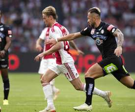 De Jong on the brink of joining City. EFE