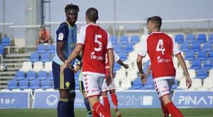 El Almería le ganó al Murcia por dos goles. UDAlmeria