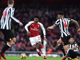 Ainsley Maitland-Niles has played 38 times for Arsenal's first team. AFP