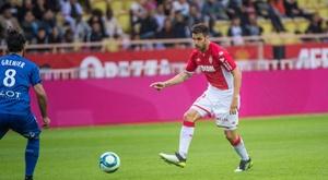 El Mónaco sufrió, pero consiguió el triunfo ante el Rennes. Twitter/AS_Monaco