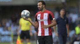 Mikel Balenziaga apunta a la titularidad frente al Valladolid. EFE