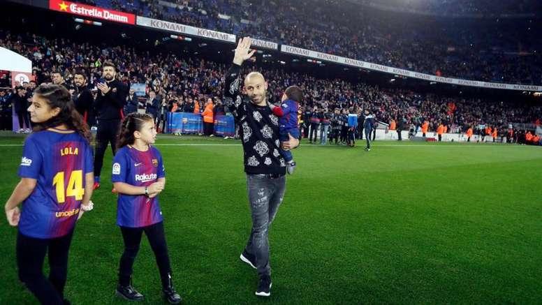 Mascherano se despidió a través de las redes sociales. JavierMascherano