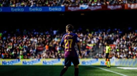 Betis veut rapatrier une pépite du FC Barcelone. Twitter/JuanMiranda
