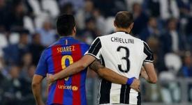 Suárez à la Juve en janvier ? AFP