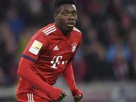 O jogador estreou-se pelo Bayern de Munique. EFE