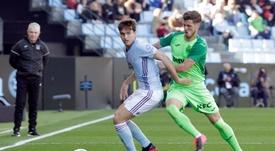 Rubén Pérez lamentó el gol encajado a balón parado. EFE