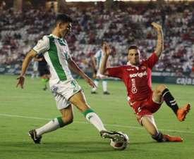 El Córdoba sigue vivo en Copa. CordobaCF