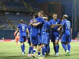 L'ailier est une des références de l'attaque du Dinamo Zagreb. Twitter/DaniOlmo