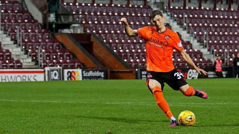 Crystal Palace are going to sign Scott Banks. Twitter/dundeeunitedfc