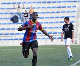 Cheikh Saad, el delantero que conoce los jugadores que están detrás del amaño. Twitter/@Cheiko20