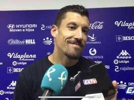 Jesús Rueda debutó con el Extremadura de forma oficial. Twitter/ExtremaduraUD