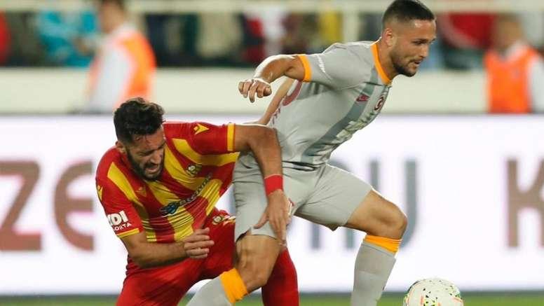 Florin Andone cree que no se lo pondrán fácil al Madrid. Twitter/GalatasaraySK