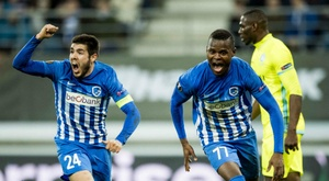 El Genk consigue entrar en Europa League. AFP