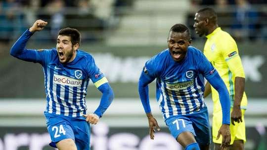 El Mechelen-Genk dejó una curiosa anécdota. AFP