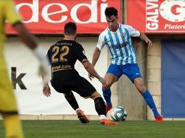 El Algeciras sostiene el empate ante el Málaga. MalagaCF