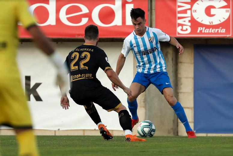El Málaga se enfrenta al Tenerife en el siguiente partido. MalagaCF