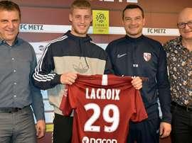 Lenny Lacroix passe pro à Metz. FCMetz