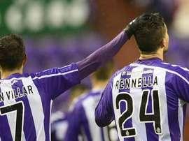 El Valladolid está pendiente de Villar. RealValladolidCF