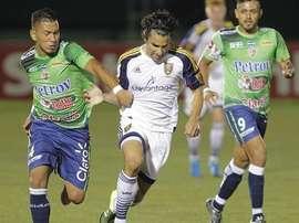 Santa Tecla derrotó por 2-1 a Sonsonate. EFE/Archivo