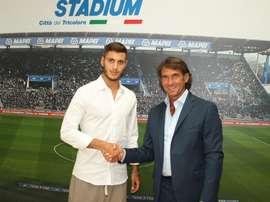 El centrocampista de 22 años inicia una nueva etapa en el Sassuolo. Sassuolo