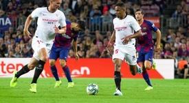 El brasileño está siendo una de las sensaciones del campeonato. SevillaFC