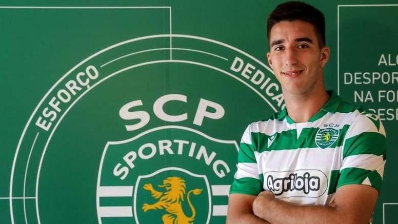 Gonçalo Inácio renueva con el Sporting. Twitter/Sporting_CP