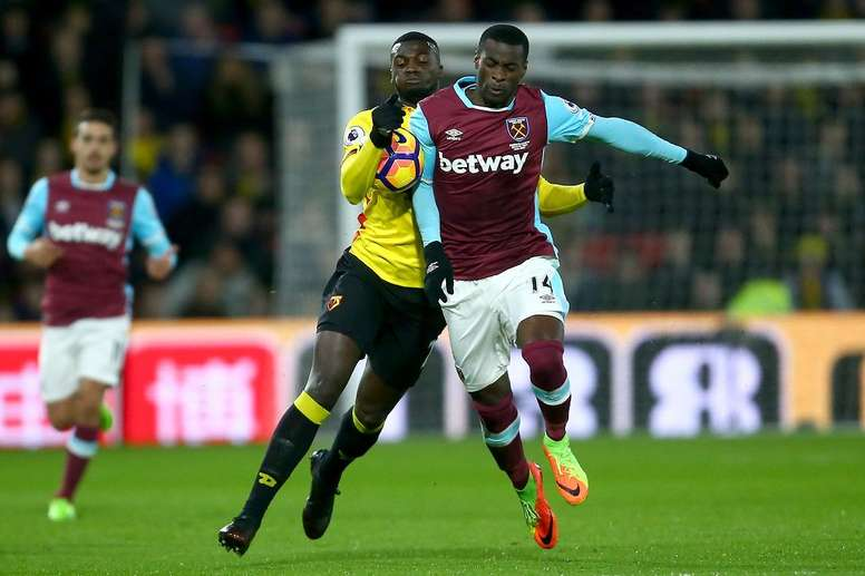 Obiang pourrait revenir à la Sampdoria. AFP