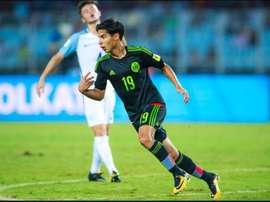El 'Tata' descartó a Lainez para la Copa Oro. AFP