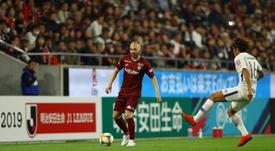 El Vissel Kobe cayó ante el Shonan Bellmare. VisselKobe